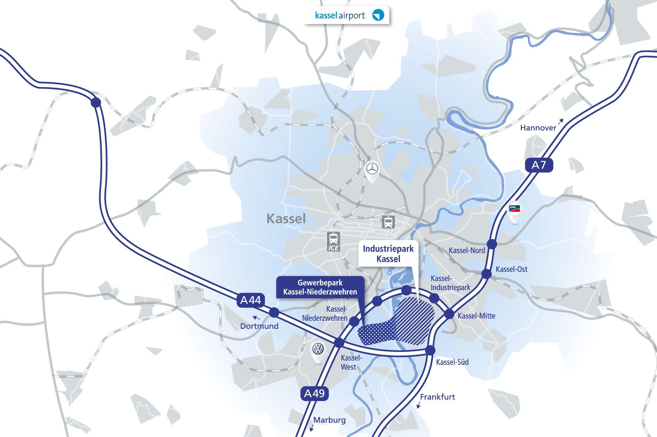 Wirtschaftsförderung Region Kassel Kassel Industriepark